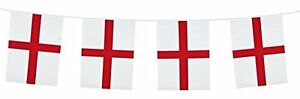 ST-GEORGE-BUNTING-7m-England-World-Cup-Plastic-Flag-Banner-Football-Street-Party
