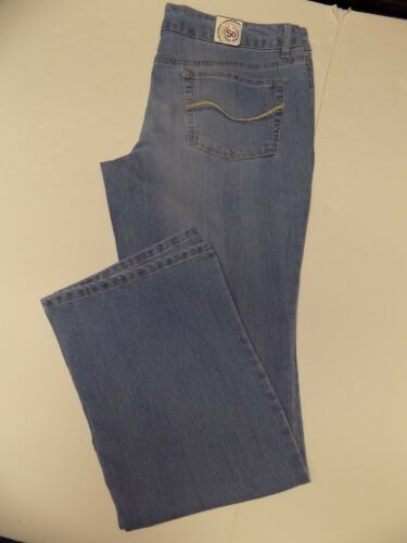 SO STRETCH BOOTCUT JEANS JUNIOR SIZE 0 REGULAR NWT
