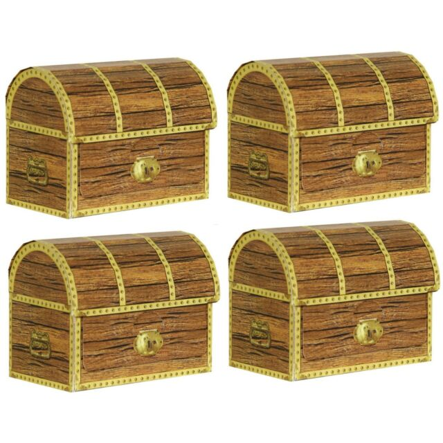 Beistle 50368 Pirate Treasure Chests Pack Of 12 For Sale Online Ebay