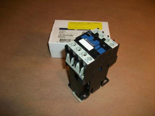 Telemecanique Contactor LP1D1810BD      24vdc coil  10hp @ 460vac
