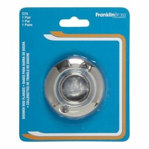 Image Is Loading Franklin Brass D75 Shower Curtain Rod Flange For