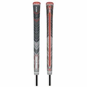 New-Golf-Pride-MCC-Plus4-ALIGN-Grey-MIDSIZE-Golf-Grips-A2-M4BM