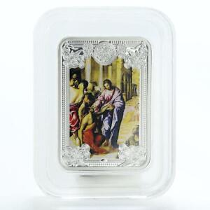 Andorra-5-diners-Healing-the-Blind-The-Wonders-of-Jesus-Proof-Silver-Coin-2013