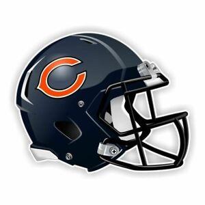 Chicago City Bear Sport Football Logo Die-Cut Sticker Decal