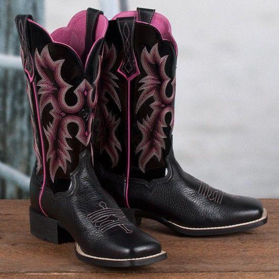 Ariat Para Mujer Mujer Mujer botas lápida occidental (10005866)  popular