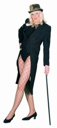 Schwarzer Frack Damenkostüm NEU Damen Karneval Fasching Verkleidung Kostüm