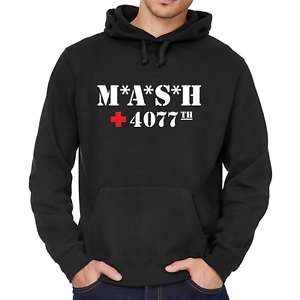 MASH-M-A-S-H-inspiriert-4070th-US-Army-Fan-70s-TV-Kapuzenpullover-Hoodie-Sweater