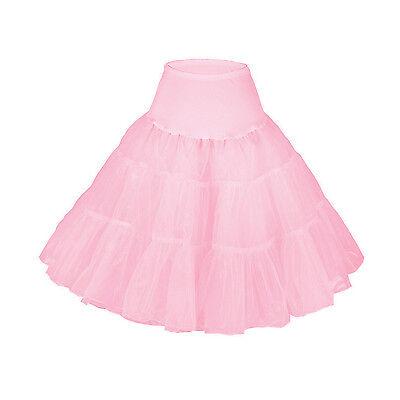 Retro Vintage Jupon Crinoline Petticoat Pour Robe De Mariage Soirée Tutu Danse