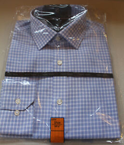 Mens M/&S Collection Size 14.5 Cotton Non Iron Long Sleeve Regular Fit Shirt