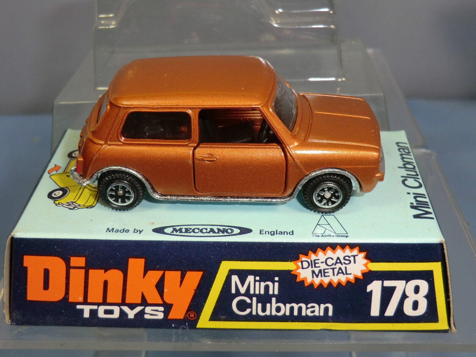 No.178 mini clubman modell dinky spielzeug im mib