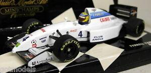 Minichamps-1-43-Scale-430-940004-Tyrrell-Yamaha-022-M-Blundell-diecast-model-car