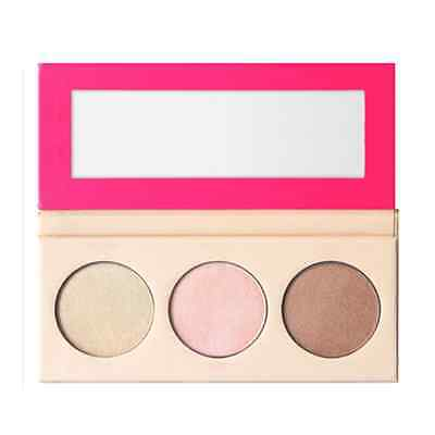 3 Colors Makeup Highlighter Fix Mineral Pressed Powder Foundation Cosmetics