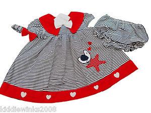 BNWT-Baby-girls-summer-bird-3-piece-dress-set-outfit-9-12-months