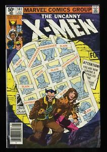 Uncanny-X-Men-141-FN-VF-7-0-Days-of-Future-Past-Part-1-Wolverine