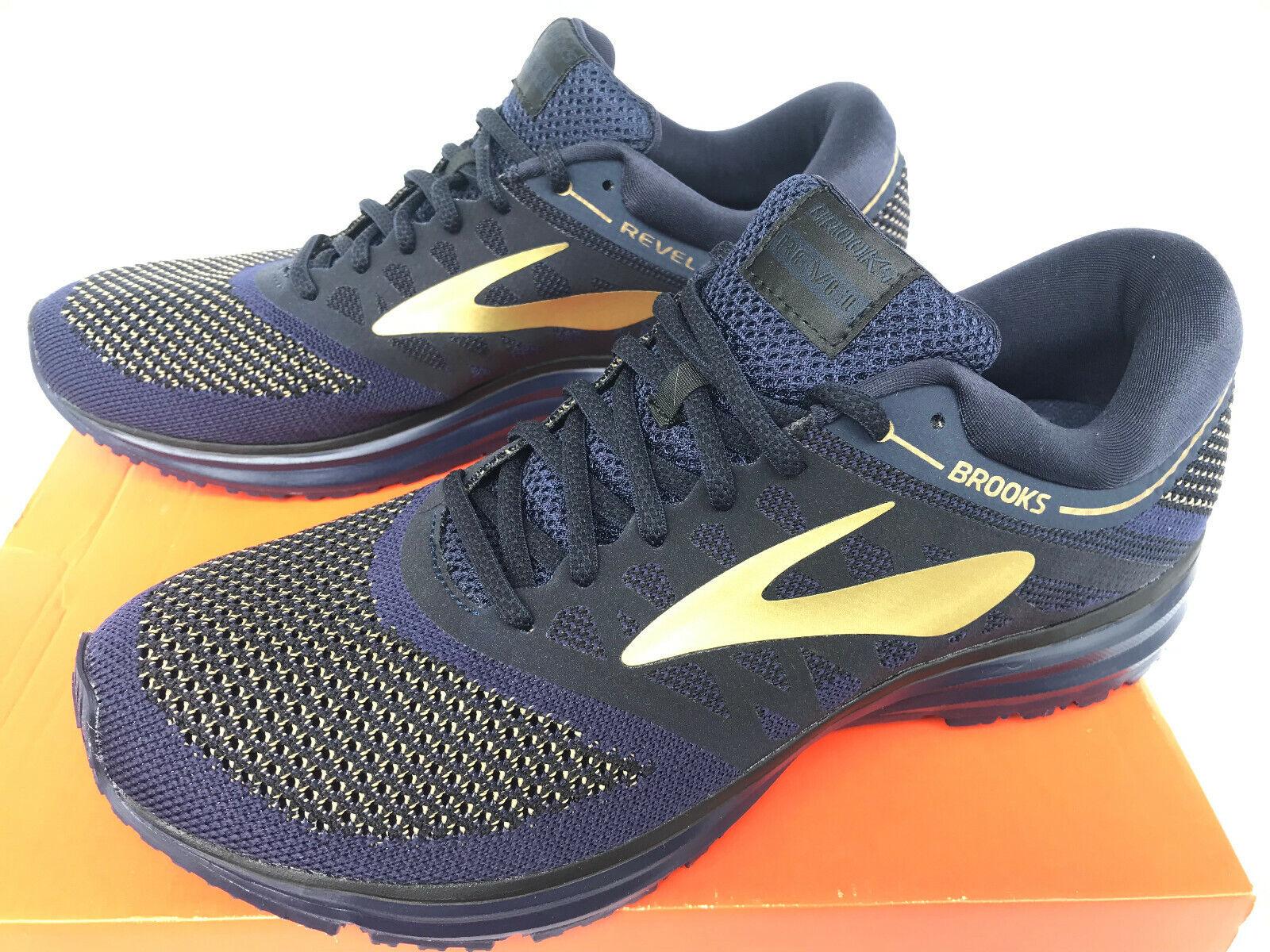 Brooks Revel 1102601D407 neutral Cush Marathon Road Zapatillas Para Correr Para hombres 10 Nuevo