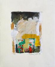 Richard Smeets: Hollands Landschap (1996). 4 signierte Original-Siebdrucke
