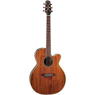 Guitars & Basses Takamine Ef508kc Nex Legacy All Koa Acoustic-electric Guitar W/case New Musical Instruments & Gear