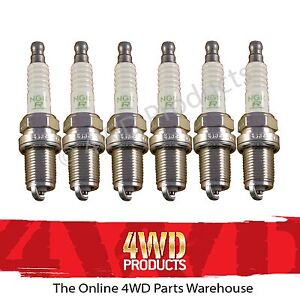 Spark-Plug-SET-NGK-for-Nissan-Patrol-GQ-Y60-RB30-3-0-90-97