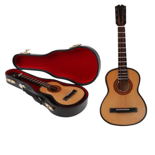 Miniature Guitar Musical Model Collections for 1//6 Action Figure 12inch Doll