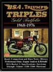BSA and Triumph Triples Gold Portfolio, 1968-76 by Brooklands Books Ltd (Paperback, 1998)