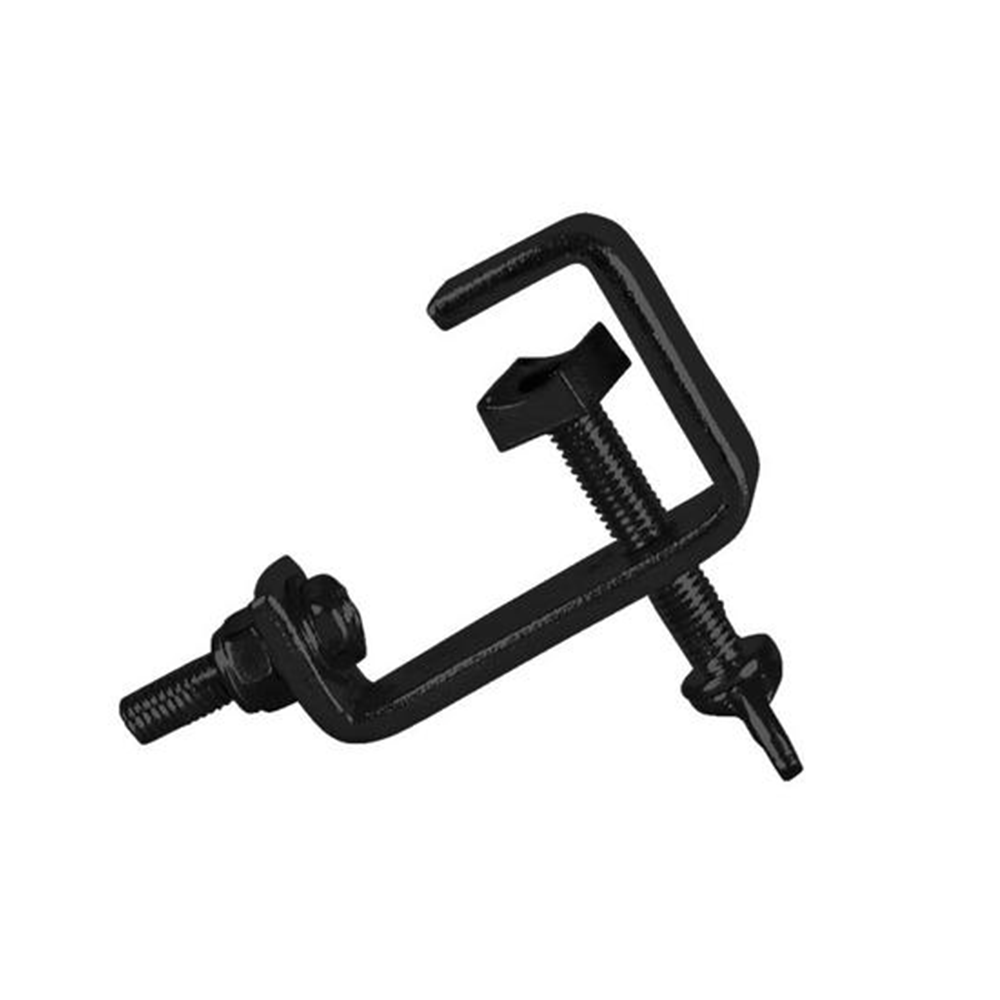 Thor CL003 25mm Hook Clamp G Clamp Pipe Lighting Disco Stage Theatre Black