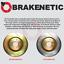 FRONT BRAKENETIC SPORT SLOTTED Brake Rotors POSI QUIET Pads EVO X BSK82108