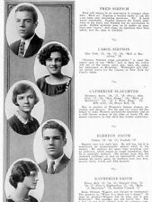 1928 Washington DC Western High School Yearbook~Photos~History~Baseball~++++