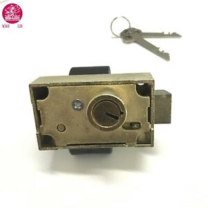 Single Nose Herring Hall Marvin #11 Safe Deposit Lock / Bank Lock / Wah Lin Part