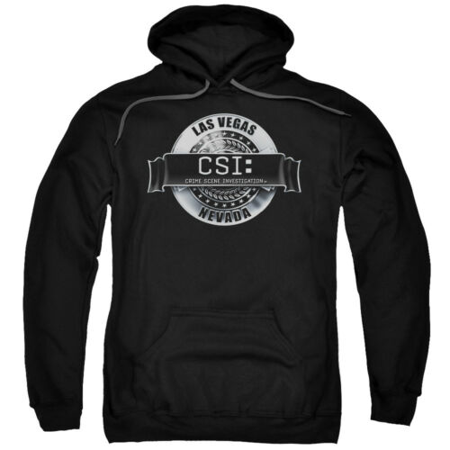 CSI TV Show CBS Rendered Logo Adult Pull-Over Hoodie