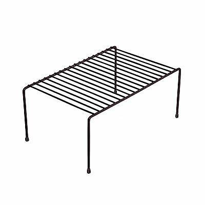 Wire Shelf Countertop Organizer Kitchen Cabinet Plate Dish ...