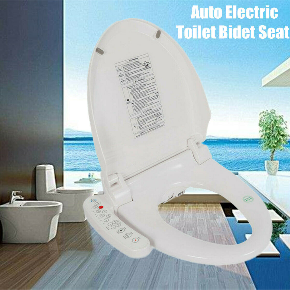 Izen Smart Cleanser Izen 7500 Bidet Toilet Seat Elongated For Sale Online Ebay