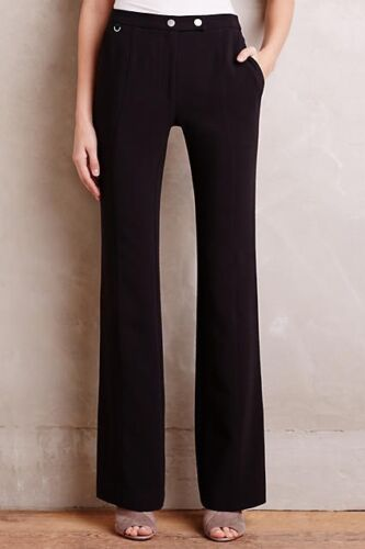 Flared S Anthropologie Sz Pants 6 Di Elementary Elevenses Nero BxHqw4d1
