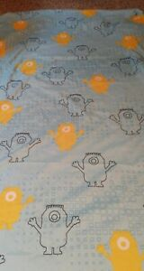 Despicable-Me-Minion-Made-Twin-Size-Fitted-Sheet-Blue-Yellow-Minions
