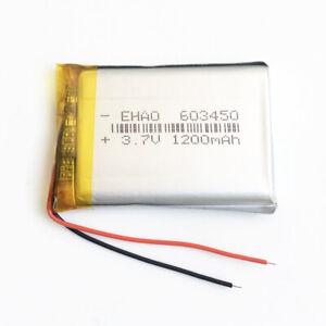 3.7V 1100mAh Lipo Polymer Battery For mp3 PAD Cell phone Camera radio...