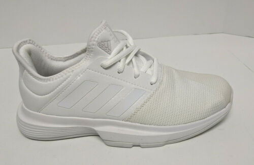 Adidas Gamecourt Tennis Shoes, White, Women's 7 M