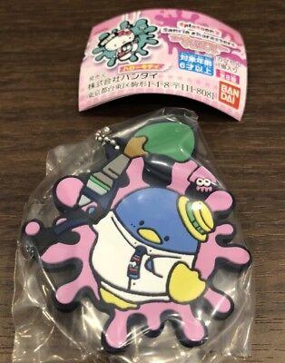 Splatoon 2 x Sanrio Characters Tuxedo Sam Rubber Mascot Key chain Gashapon