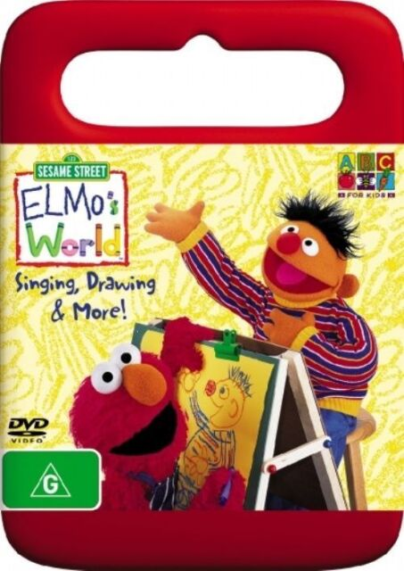 Sesame Street Elmo S World Singing Drawing And More Dvd 2006