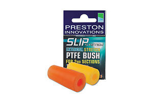 Preston-Innovations-2x-Externo-Elastico-PTFE-Bush-Todos-Colores-Pesca-con-cana