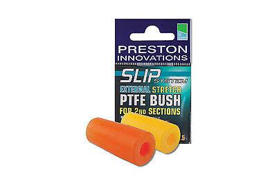 Preston Innovations 2 x External Stretch PTFE Bush ALL COLOURS Pole fishing