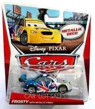 Disney Pixar Cars Silver Metallic Deco Frosty Australian Car In Hand