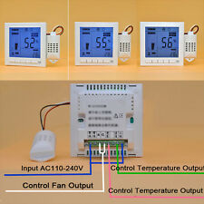 White Yes PC Intelligent Digital Humidity Temperature Controller 110-240V Y2R3