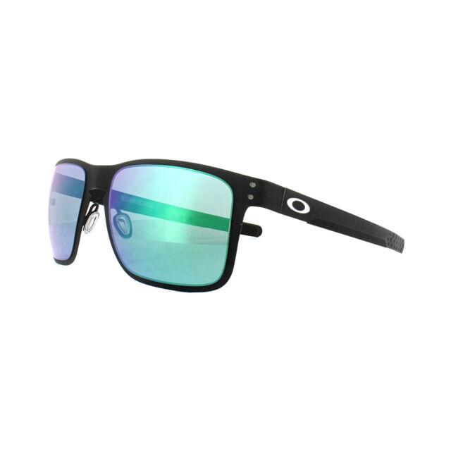 Oakley Sunglasses Holbrook Oo4123-04 Matte Black Frames Jade Iridium ...