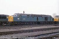 British Rail Class 40079 Warrington Arpley 07/05/83 Rail Photo