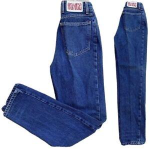 Vintage Bongo Jeans High Waist Tapered Leg Mom Jeans 80s 90s Sz 5 L 27 Waist Ebay
