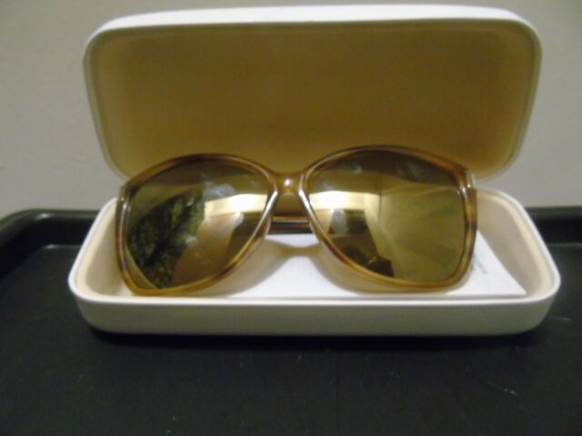 3e33514ec6 Chloe Sunglasses Ce604s 283 Striped Brown Frames Grey Shaded Lens ...