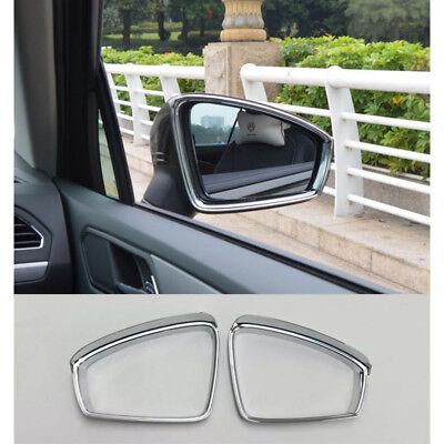 Car Rearview Mirror Cover Rear View Mirror Trim For Volkswagen VW Tiguan 2017-19