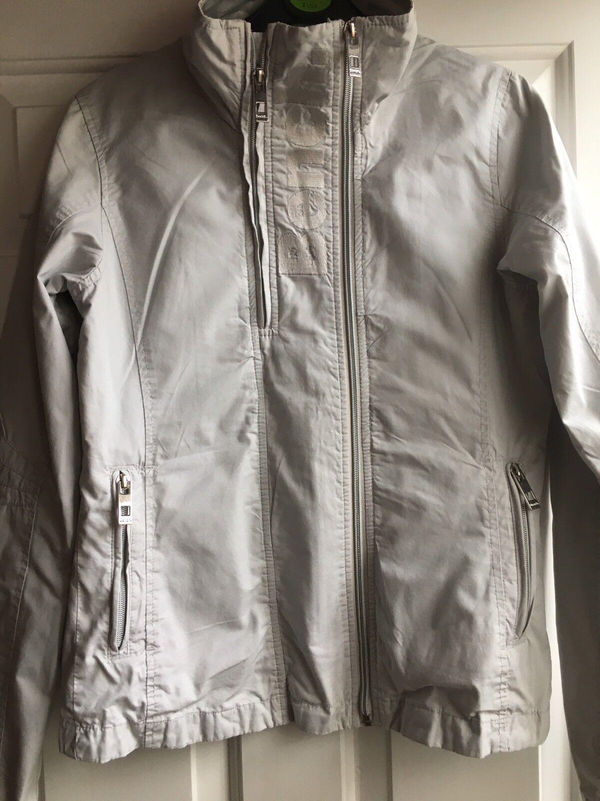 BENCH -100% Cotton Soft Jacket Light Grey Size S