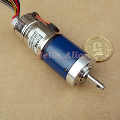 MOONS Mini 22mm 2-phase 4-wire Stepper Motor Micro Metal Planetary Gearbox motor