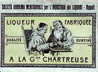 """Liquori -A LA CHARTREUSE"""" >>> Etichetta-> vintage"""