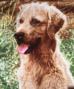 Tagesdecke-Kuscheldecke-Decke-mit-Motiv-Hunde-Golden-Retriever-160x200cm